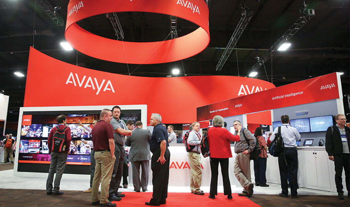 Avaya conference booth image